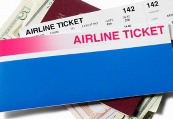 Авиабилет, паспорт, деньги