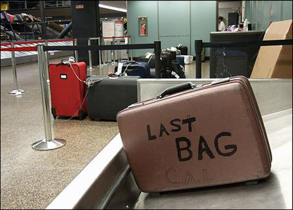 Последний чемодан на ленте но не ваш