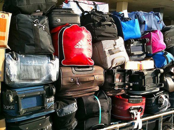 Багаж упакованный и нет
