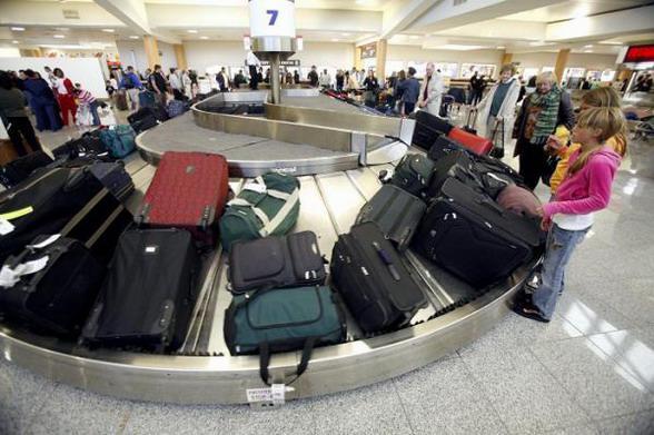 Лента- транспортер - выдача багажа
