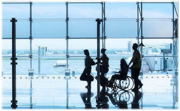Перевозка инвалидов авиатранспорте