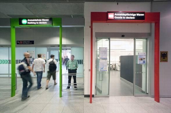 зеленый и красный коридор